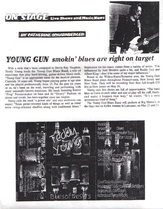Young Gun Smokin Blues Article